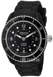 Alpina Horological Smartwatch Czarny/Guma Ø36 mm AL-281BS3V6