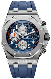 Audemars Piguet Royal Oak Offshore Niebieski/Guma Ø42 mm 26470ST.OO.A027CA.01