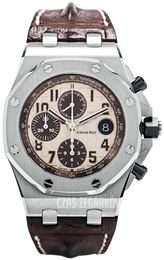 Audemars Piguet Royal Oak Offshore Kremowy/Skóra Ø42 mm 26470ST.OO.A801CR.01