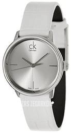 427fa05e03548 Calvin Klein Dress Srebrny Skóra Ø32 mm K2Y2Y1K6