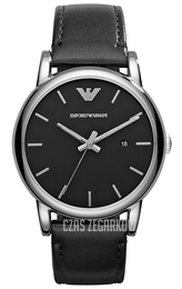 Emporio Armani Dress Czarny/Skóra Ø41 mm AR1692