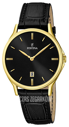 Festina Dress Czarny/Skóra Ø39 mm F16747-4