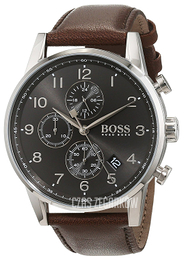 Hugo Boss Chronograph Szary/Skóra Ø44 mm 1513494