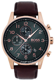 Hugo Boss Chronograph Szary/Skóra Ø44 mm 1513496