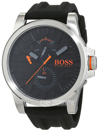 Hugo Boss Czarny/Guma Ø48 mm 1550006
