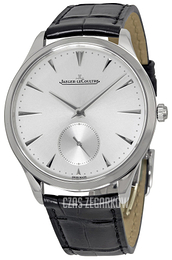 Jaeger LeCoultre Master Ultra Thin Small Second Stainless Steel Srebrny/Skóra Ø38.5 mm 1278420