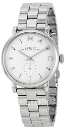 Marc by Marc Jacobs Baker Biały/Stal Ø36.5 mm MBM3242