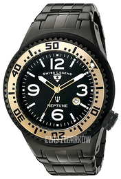 Swiss Legend Neptune Czarny/Stal Ø52 mm SL-21819P-BB-11-GA