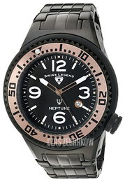 Swiss Legend Neptune Czarny/Stal Ø52 mm SL-21819P-BB-11-RA