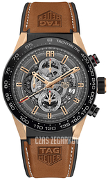 TAG Heuer Carrera Szary/Guma Ø45 mm CAR2A5C.FT6125