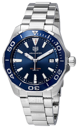 TAG Heuer Aquaracer Niebieski/Stal Ø41 mm WAY111C.BA0928