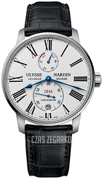 Ulysse Nardin Marine Collection Biały/Skóra Ø42 mm 1183-310-40