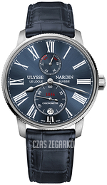 Ulysse Nardin Marine Collection Niebieski/Skóra Ø42 mm 1183-310-43