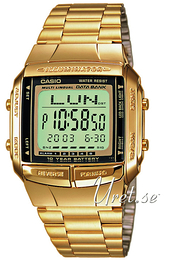 Casio Casio Collection Stal w odcieniu złota 43.1x37.7 mm DB-360GN-9AEF