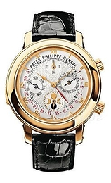 Patek Philippe Grand Complications Sky Moon Tourbillon Biały/Skóra Ø42.8 mm 5002J/001