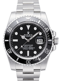 Rolex Submariner Czarny/Stal Ø40 mm 116610LN-0001