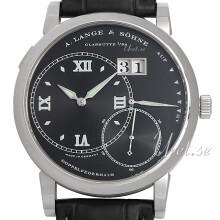 A. Lange & Söhne Lange 1 Czarny/Skóra Ø42 mm