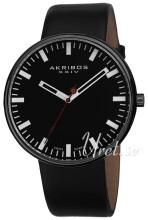 Akribos XXIV Essential Czarny/Skóra
