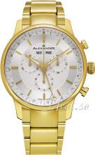 Alexander Statesman Srebrny/Stal w odcieniu złota