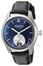 Alpina Startimer Niebieski/Skóra