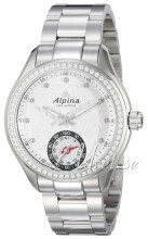 Alpina Horological Smartwatch Srebrny/Stal Ø39 mm