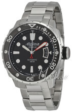 Alpina Seastrong Czarny/Stal Ø44 mm
