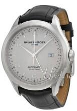 Baume & Mercier CLIFTON Srebrny/Skóra