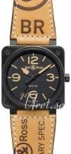 Bell & Ross BR 01-92 Czarny/Skóra