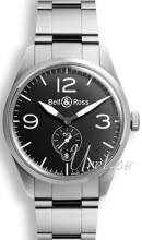 Bell & Ross BR 123 Czarny/Stal