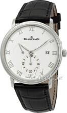 Blancpain Villeret Biały/Skóra Ø40 mm