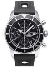 Breitling Superocean Heritage Chronograph Czarny/Guma Ø46 mm