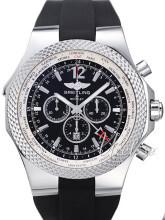 Breitling for Bentley GMT Czarny/Guma