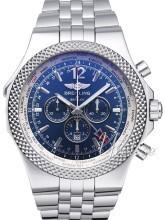 Breitling for Bentley GMT Niebieski/Stal