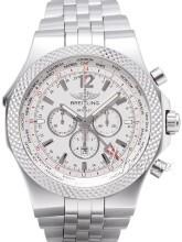Breitling for Bentley GMT Srebrny/Stal