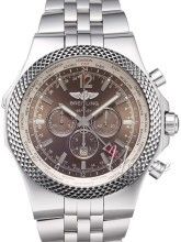 Breitling for Bentley GMT Brązowy/Stal