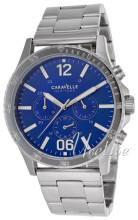 Bulova Caravelle Niebieski/Stal