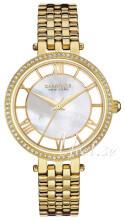 Bulova Caravelle Biały/Stal w odcieniu złota