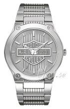 Bulova Harley-Davidson Srebrny/Stal