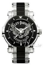 Bulova Harley-Davidson Czarny/Stal Ø44 mm