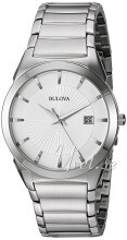 Bulova Dress Srebrny/Stal Ø38 mm
