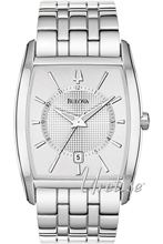Bulova Dress Srebrny/Stal