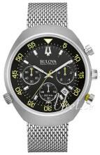 Bulova Accutron Czarny/Stal Ø45 mm