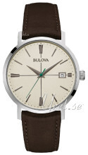 Bulova Dress Beżowy/Skóra Ø39 mm
