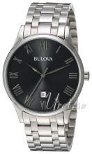 Bulova Bracelet Szary/Stal Ø40 mm