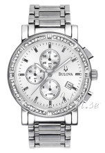 Bulova Highbridge Srebrny/Stal Ø39 mm