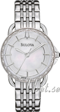 Bulova Diamond Biały/Stal Ø30 mm