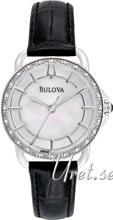 Bulova Diamond Biały/Skóra Ø30 mm