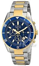 Bulova Marine Star Niebieski/Stal w odcieniu złota