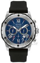 Bulova Marine Star Niebieski/Guma