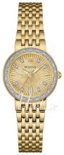 Bulova Diamond Żółte złoto/Stal w odcieniu złota